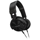 PHILIPS DJ Monitor Style Headphones [SHL 3000/00] - Black - Headphone Full Size